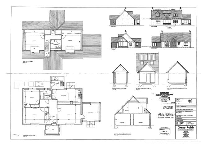 Approved House Plan  - Proposed Design