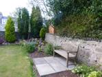 Rear garden seating area