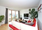 Fabulous open plan living areas with large balcony