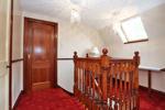 Upper hallway, ideal office area