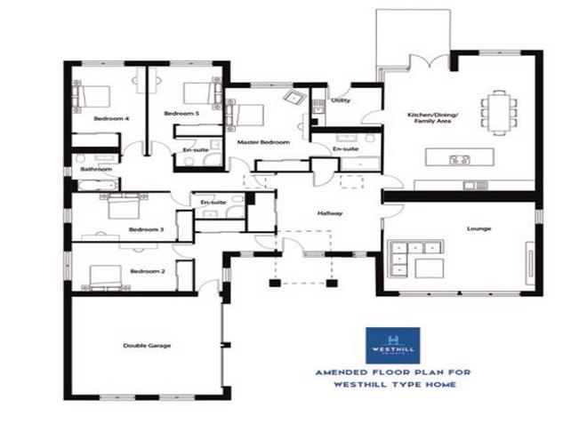 Westhill Style Floor Plan