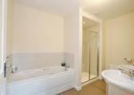 En suite bathroom with 5 piece suite