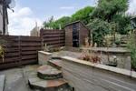 Patio in rear garden