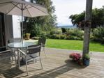 Decking area & view