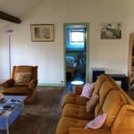 Attic apartment lounge