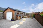 Garage and Summerhouse