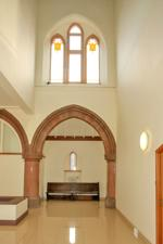 Communal entrance/reception area