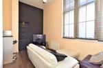 Open plan living room and breakfast kitchen