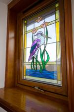 Stained Glass Window at First Floor Level