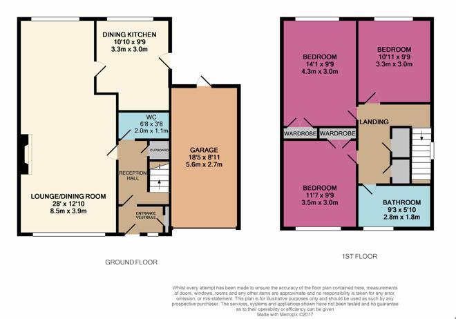 1 Cairn Gardens Floor Plan