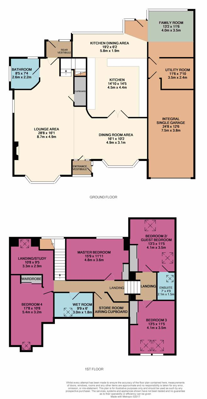 6 Cults Avenue Floor Plan